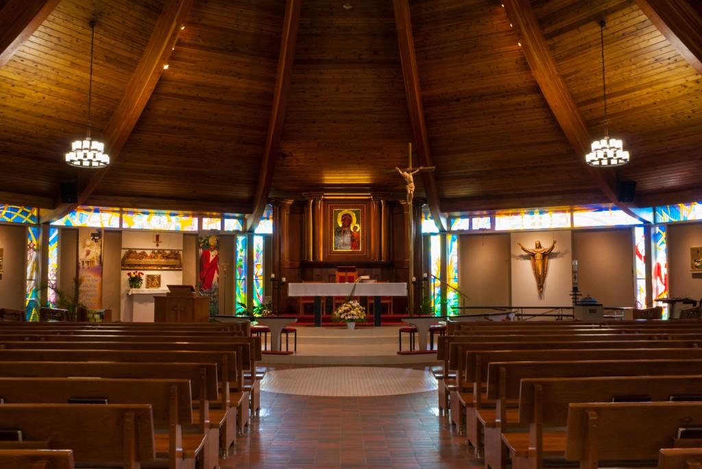 Kościół i Sala Parafialna